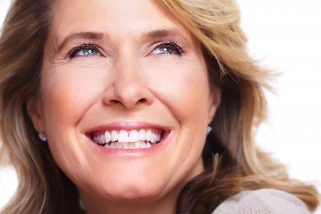 15412551 - happy senior woman